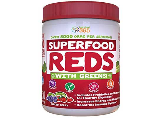 Superfood Reds with Greens by Feel Great 365