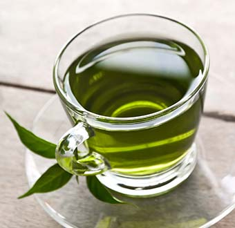 Drinking Green Tea for Weight Loss