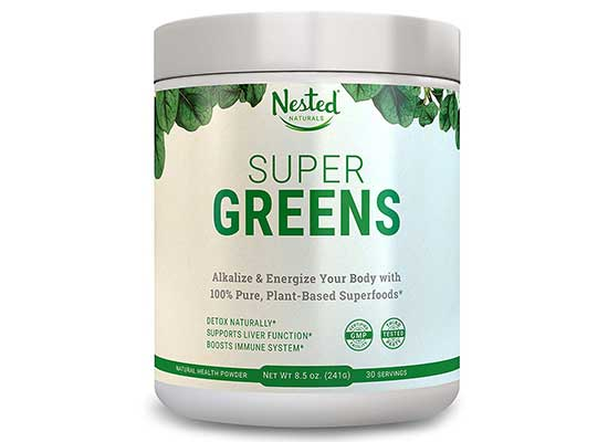 Super Greens by Nested Naturals