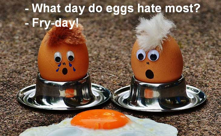 What Day Eggs Hate Fry-Day Joke