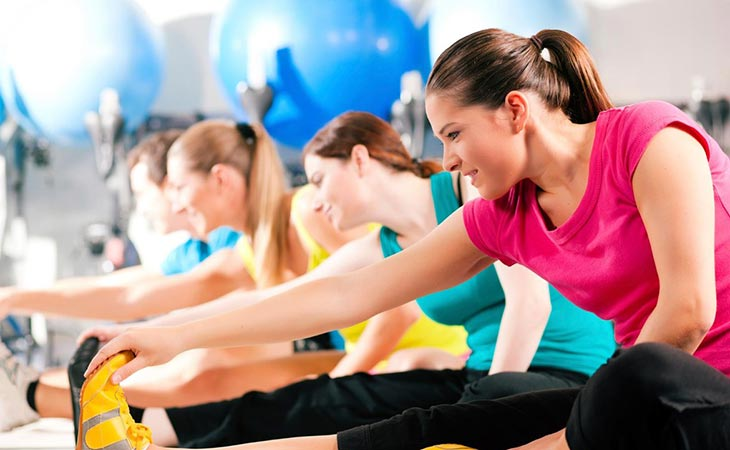 Group of Happy Women Working Out For Fitness Facts