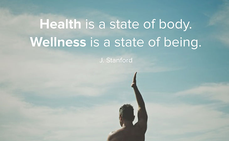 Health State of Body, Wellness State of Being J. Stanford Quotes
