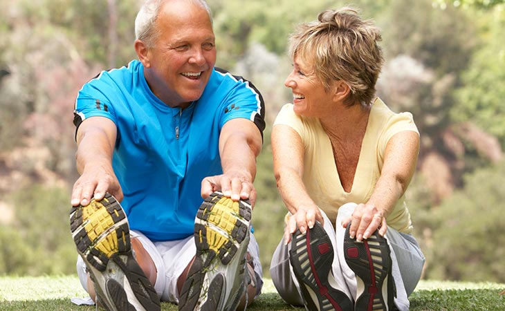 Seniors Working Out To Stay Young Exercise Facts