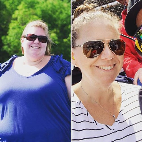 Lindsay Shenk Weight Loss Transformation Journey