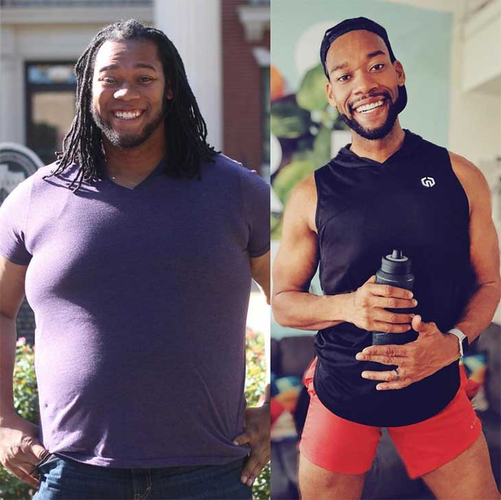 Deandre Upshaw Weightloss Journey