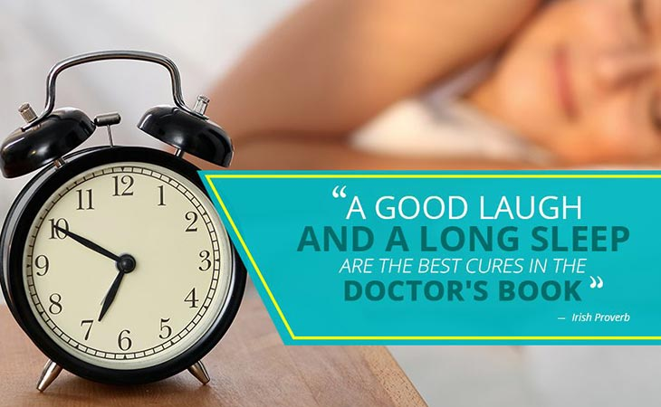 Good Laugh Long Sleep Best Cures in Doctor's Book Healthy Lifestyle Quote