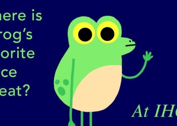 Frog pun about iHop